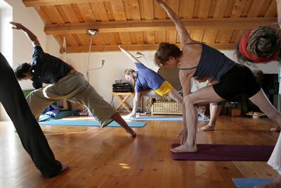 yoga mit Sascha Tscherni