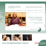 Webdesign: www.komplementaer-med.at