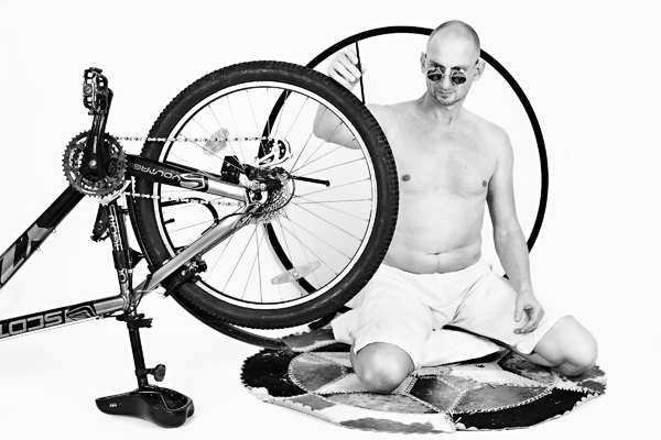 Gandhi-at-his-Spinning-Wheel