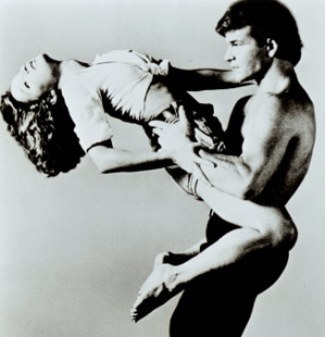 "Patrick Swayze and Jennifer Grey in ""Dirty Dancing"" (1987)"