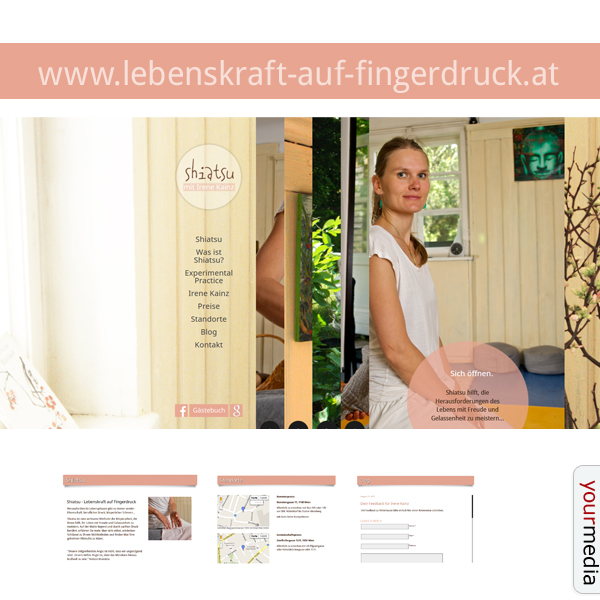 Webdesign www.lebenskraft-auf-fingerdruck.at