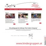 Webdesign: www.kindergruppen.at