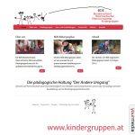 Webdesign: www.kindergruppen.at