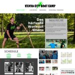 Relaunch: www.viennacitybootcamp.at